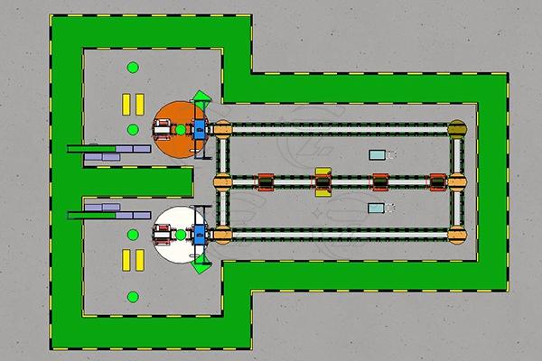 工业智能制造柔性生产线