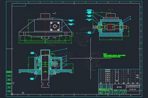 涡轮箱图纸设计